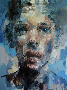 "artchipel: "" Ryan Hewett South Africa) Contrary to the tradition of verisimilitude, for Hewett the portrait is not about capturing an external likeness of a subject, but rather as a portrait. Abstract Portrait, Portrait Art, Portraits, Art And Illustration, Figure Painting, Painting & Drawing, Creation Art, South African Artists, A Level Art"