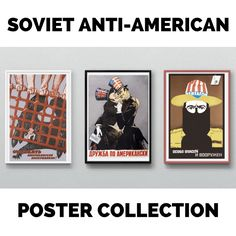 PRE-ORDER! Soviet Anti-American Poster Collection