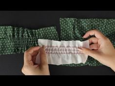How To Sew Shirring - YouTube