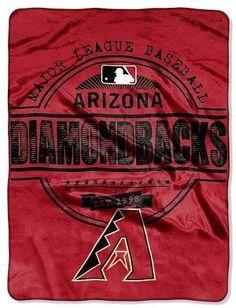 """MLB Arizona Diamondbacks Throw Blanket - 46""""x60"""""""