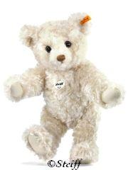 Steiff Mini Teddy Bear Lucky Charm Mohair Authentic MIB 039836 with Gift box