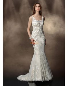 Hall Sweep/Brush Train Summer Wedding Dresses 2014