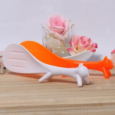 Creative Novelty Fox Design Kitchen Squirrel Shape Rice Paddle Scoop Spoon Ladle