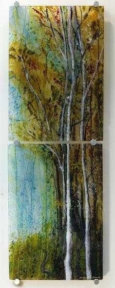 Autumn Song, 46x15, Alice Benvie Gebhart