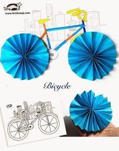 bicycle craft for kıds (3)