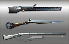 ArtStation - The hunting rifles of legendary hunters, Timur Mutsaev