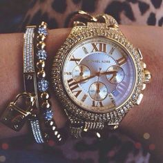 http://www.popularclothingstyles.com/category/michael-kors-handbags/ MK <3 This watch is probably more reasonable color wise