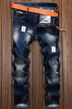 $22.51 Applique Embellished Straight Leg Jeans