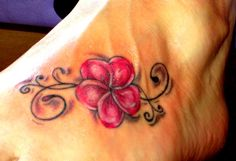 Fuß Tattoo – foot tattoos for women flowers Anklet Tattoos For Women, Tattoos For Women Flowers, Tattoos With Kids Names, Foot Tattoos For Women, Tattoos For Guys, Tribal Flower Tattoos, Hibiscus Flower Tattoos, Flower Tattoo Foot, Rose Tattoos