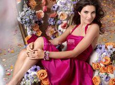 fuchsia formal dress with halter neck a-line bridesmaid dress