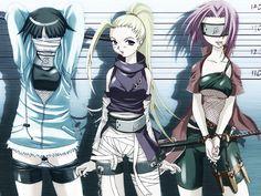 Awesome anime wallpaper from Naruto uploaded by 2+2=5 - Hinata, Ino, and Sakura