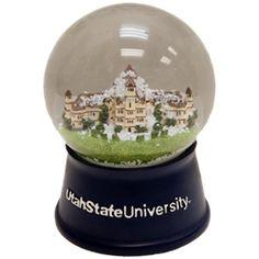Utah State University Old Main Snow Globe