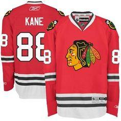 Reebok Chicago Blackhawks #88 Patrick Kane Red Premier Hockey Jersey