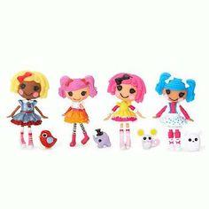 Mini Lalaloopsy Puppen 4er Pack - Set 21 [UK Import]: Amazon.de: Spielzeug