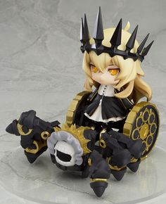 Buy PVC figures - Black Rock Shooter TV Animation PVC Figure - Nendoroid Chariot with Mary (Tank) Set TV ANIMATION Ver. Wave 01 - Archonia.com