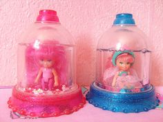 I owned a yellow one.  Apparently called Krystal Princess (1992).