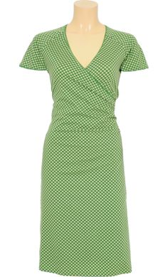 Vintage inspired summer dress in light green - King Louie SS2014