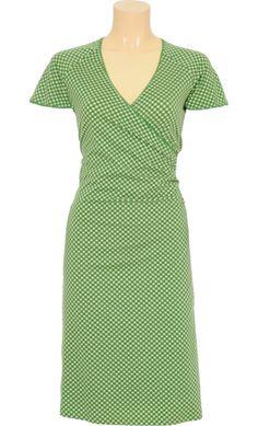 Vintage inspired summer dress in light green - King Louie SS2014