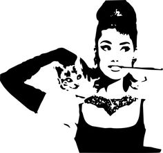 Audrey Hepburn Wall Art by LynchmobGraphics on Etsy