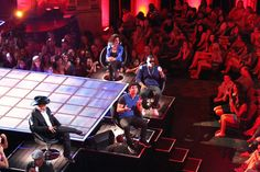 The Next mentors John Rich, Joe Jonas, Nelly and Gloria Estefan