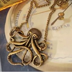 Kraken necklace(NWT)last one! Very cute necklace Jewelry Necklaces