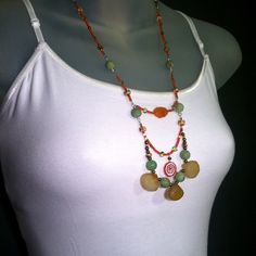 Little India Statement Necklace by Christina Holland Designs  www.ChristinaHollandDesigns.com