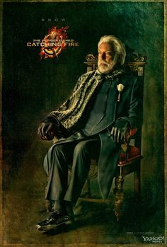 Catching Fire Character Portrait – Snow