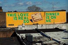 Love Letter Mural Tour by Philadelphia graffiti artist, Steve Powers.  via Blend Design blog