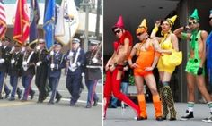 Pinner: Army provides honor guard  for gay pride parade but not church service/ hell has frozen over. this is without morality of any kind. I am an army vet from the nam era and I am ashamed of the army for going along with this Obama motivated degradation.