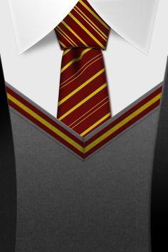 Harry Potter Gryffindor Tie iPhone Wallpaper