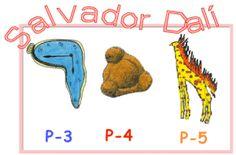 zonaClic - actividades - Salvador Dalí. Educació Infantil