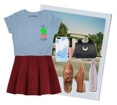 """""""Untitled #481"""" by ak00 ❤ liked on Polyvore featuring Polaroid, Outstanding Ordinary, Gap, Skinnydip, Usagi, NARS Cosmetics and S'well"""