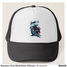 31d2612a Aquaman | Orm, Black Manta, Tylosaur, & Ships Trucker Hat Black Manta,