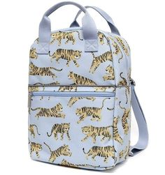 Petit Monkey backpack tiger grey made from recycled PET bottles!