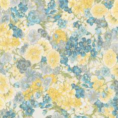 Robert Kaufman Fabrics: SRKM-15838-200 VINTAGE from Grand Majolica