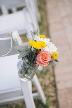 aisle flowers ... LOVE