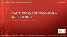 DT Resources: Key Stage 3 Product Design  Design Development  3rd Angle Orthographic Drawing  DT & Engineering Teaching Resources http://crwd.fr/2la9ZGM