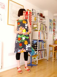 Jane Foster Blog - dress out of ikea Doona
