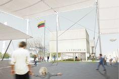Lithuania Pavilion #Expo2015 #Milan #WorldsFair