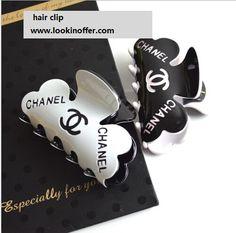 Chanel hair clip hair Barrettes 2pcs/$16.8