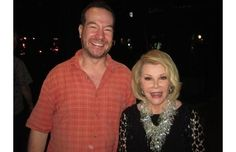 Comedian Joan Rivers is pictured here the evening before her death. The next day, she went into cardiac arrest and died during minor throat surgery.   Haunting Last Photos of Famous People Right Before They Died