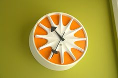 Vintage Herman Miller/George Nelson clock. Photo: Greg McKinney