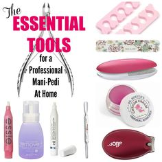 The Essential Mani-Pedi Tools for Professional Results at Home