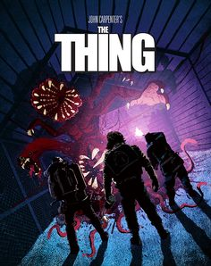 "kogaionon: ""  The Thing DVD/Blu-Ray cover by Nat Marsh """