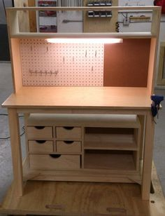 Work Bench  Kids Set of 3 by FonsecaWoodWorks on Etsy, $690.00