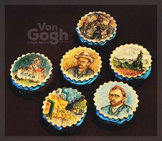 #van #gogh #cupcakes