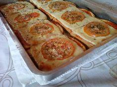 Aprendar a fazer a Receita de Pizza de pão de forma