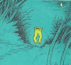 Image result for spooky green pants dr seuss