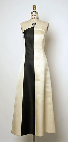 Evening Dress, Evening Gown, Splendid Evening Dress Design, Fashion Designer, Evening Dress Designer, Miracle Gown    Yeohlee Teng (American, born Malaysia, 1951)  Date: spring/summer 1992 Culture: American Medium: silk