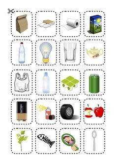 Let's Become Recycling Experts! - Bajki Gry Zabawy edukacyjne - tuptuptup.org.pl Free Preschool, Preschool Printables, Science Worksheets, Science Lessons, Recycling Games, Earth Day Crafts, Arbour Day, Ways To Recycle, Kindergarten Crafts
